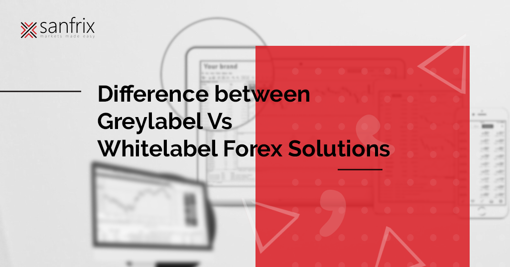 White label forex solution
